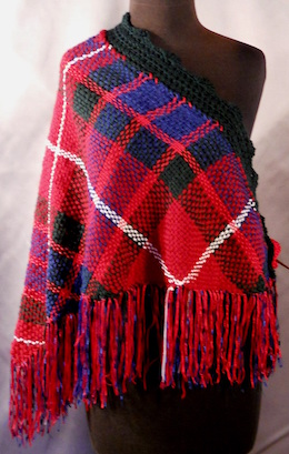 Scottish Tartan Fraser Custom Shawl